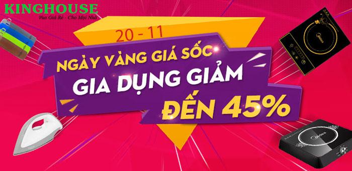 Chào mừng ngày Nhà Giáo Việt Nam 20 - 11 Sale đến 45 %