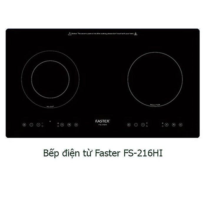 Bếp hỗn hợp điện từ Faster FS-216HI