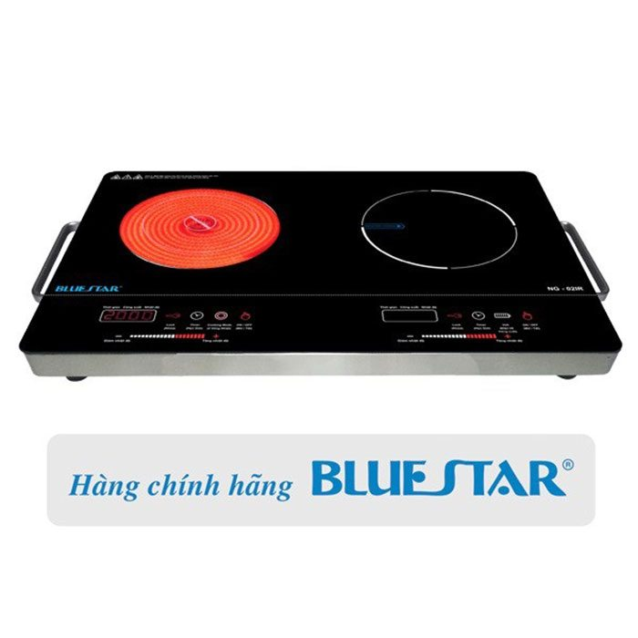 Bếp hồng ngoại điện từ Bluestar NG-02IR