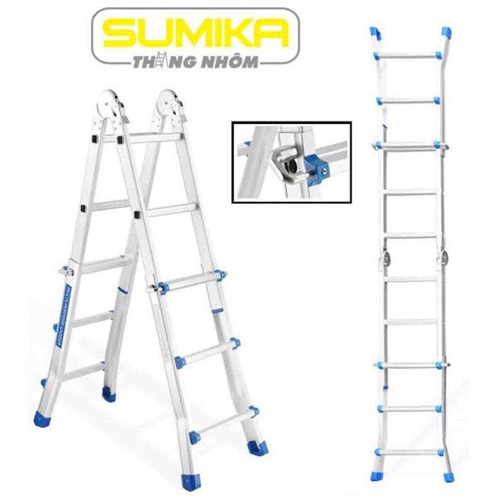 Thang nhôm gấp đa năng Sumika SKM-404