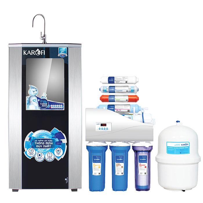 Máy lọc nước thông minh Karofi iRO 1.1 K8I-1 8 cấp lọc