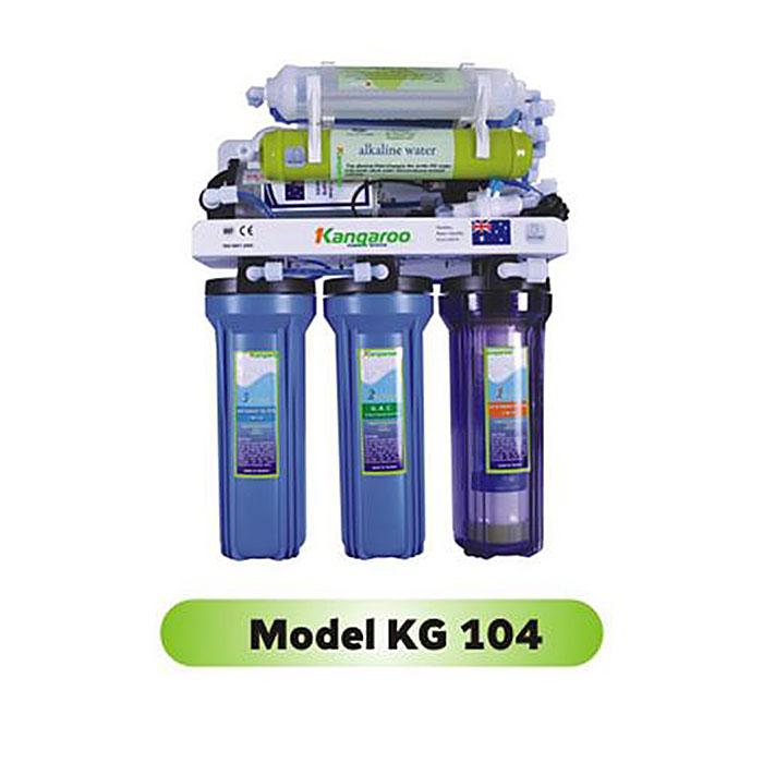 Máy lọc nước RO diệt khuẩn tạo khoáng Kangaroo KG104