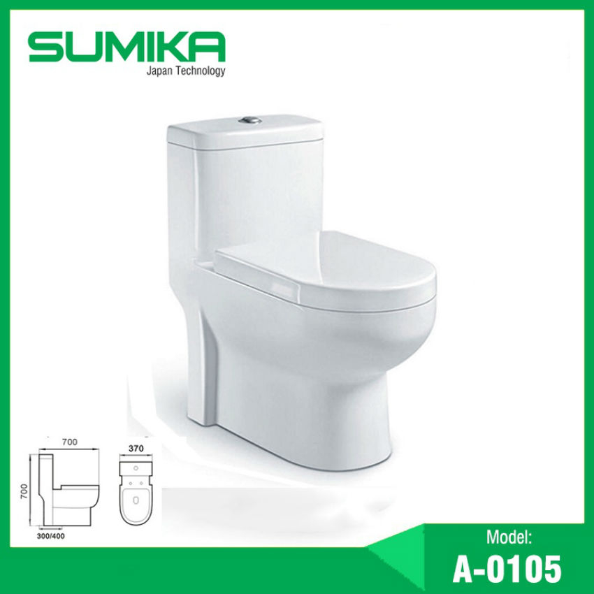Bồn cầu một khối Sumika A-0105