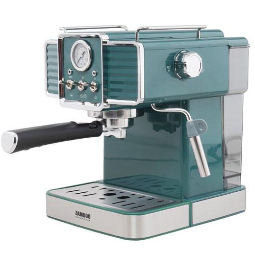 Máy pha cà phê Zamboo ZB-90PRO (XANH) - Tặng 500 Gram Cà phê