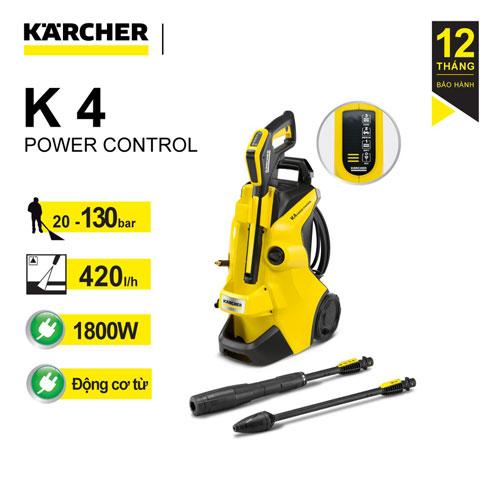 Máy phun rửa áp lực cao Karcher K4 Power Control