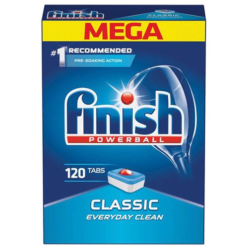 Hộp 120 viên rửa chén Finish Classic Dishwasher Tablets QT09444