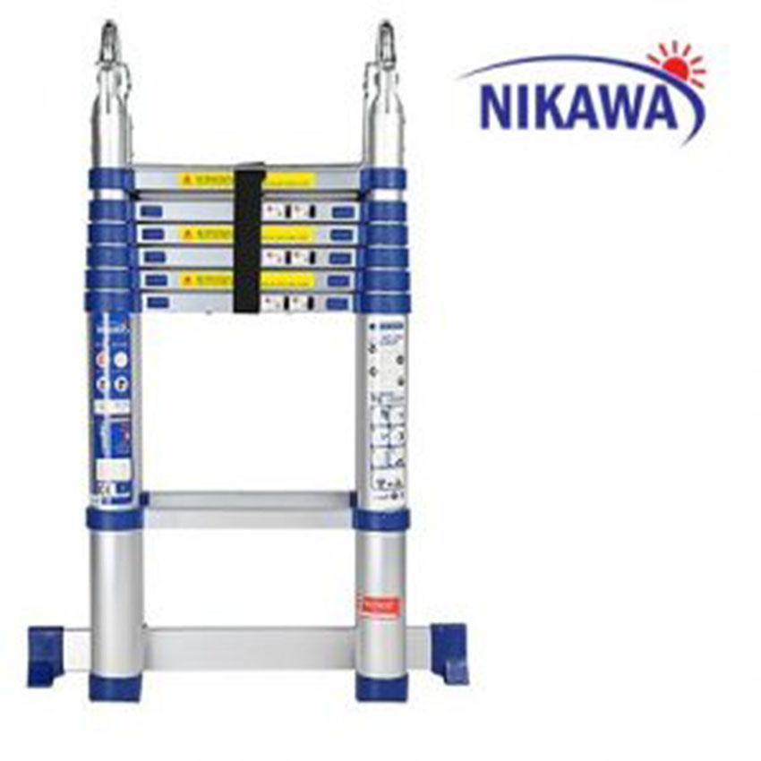Thang nhôm rút đôi Nikawa NK-38AI