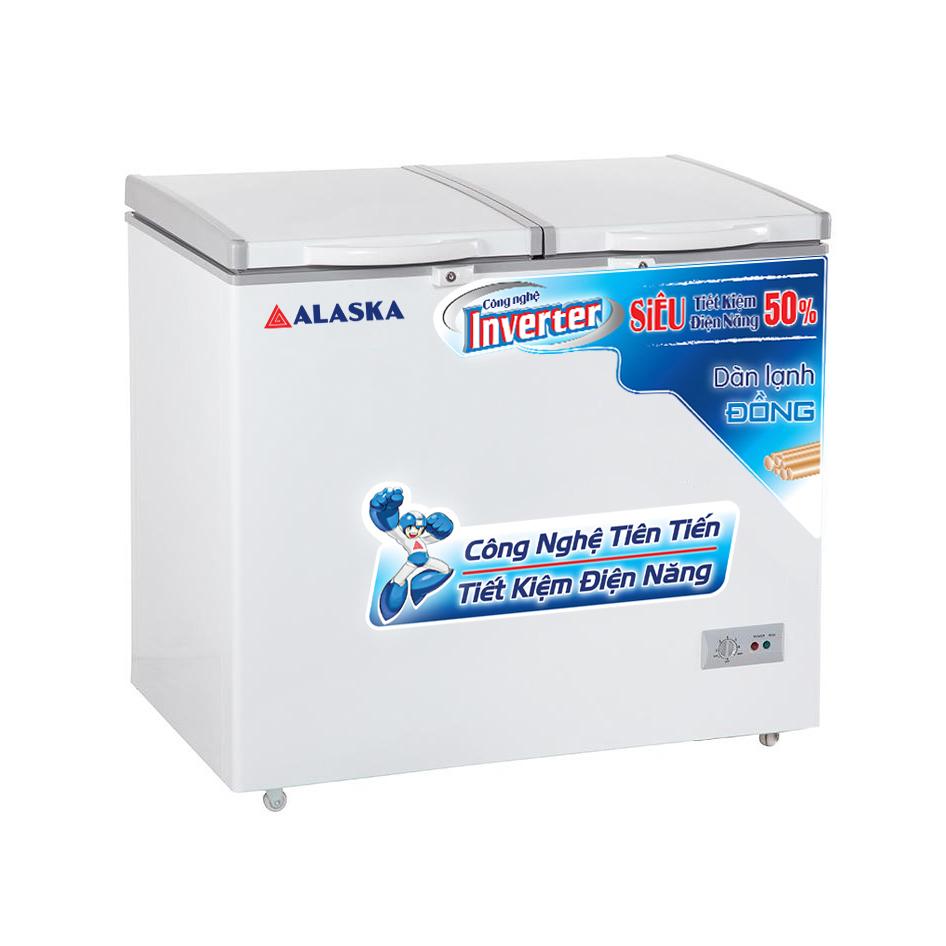 Tủ đông mát Inverter Alaska BCD-5568CI dung tích 372 lít