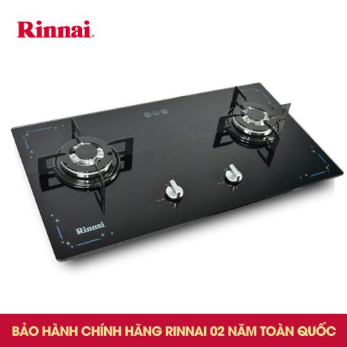 Bếp gas âm Rinnai RVB-212BG(SL)