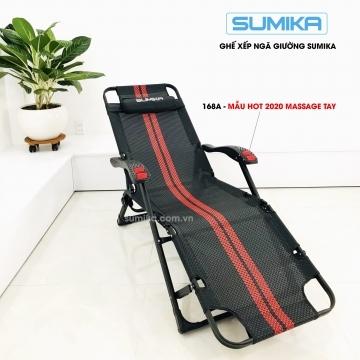 Ghế xếp thư giãn ngã giường SUMIKA 168A