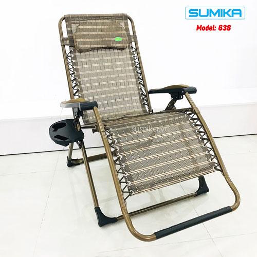 Ghế xếp gấp thư giãn Sumika 638