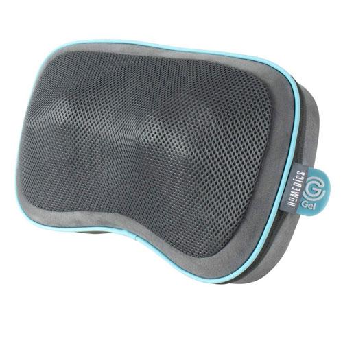 Gối massage shiatsu 3D cao cấp công nghệ GEL - Pin sạc HoMedics GST-550HRC-EU