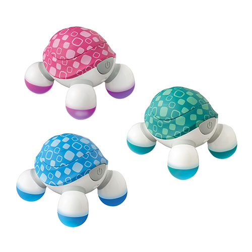 Máy massage cầm tay mini Turtle 3 đầu Homedics NOV-60-9CTM