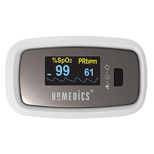 Máy đo nồng độ oxy máu SPO2 và nhịp tim HoMedics PX-131CO