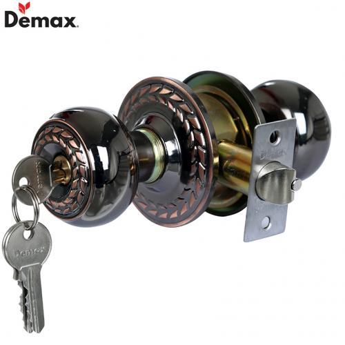 Khóa cửa tay nắm tròn Demax LK500 AC
