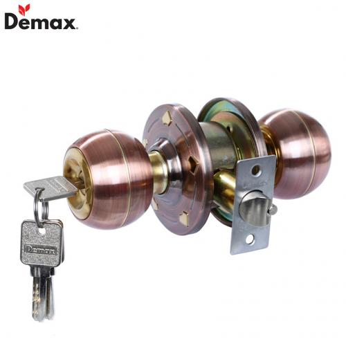 Khóa cửa tay nắm tròn Demax LK800 AC