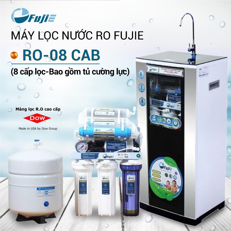 Máy lọc nước tinh khiết RO thông minh FujiE RO-08 ( CAB )