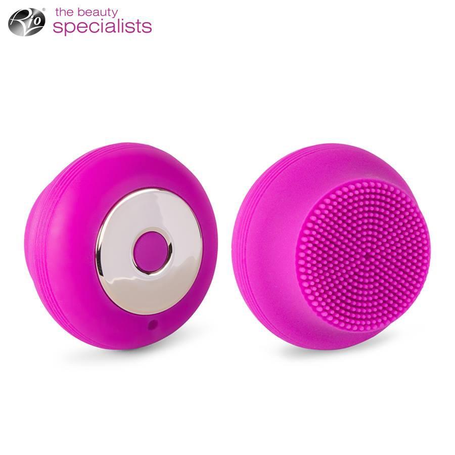Máy rửa mặt công nghệ siêu âm Sonicleanse GLO Belle RIO FADM-Purple