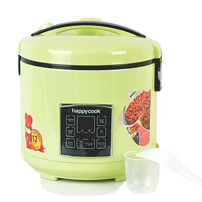 Nồi cơm điện nắp gài điện tử Happy Cook 1.8 lít HCJ-181D