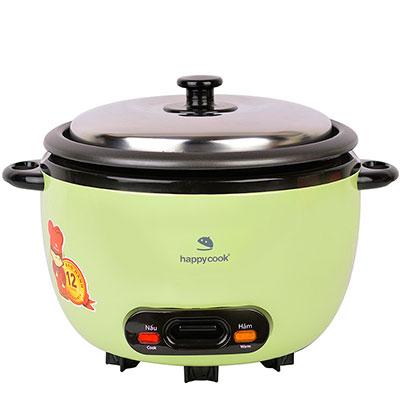 Nồi cơm điện nắp rời cơ Happy Cook 0.6 lít HCD-061A