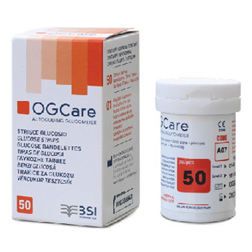 Que thử đường huyết OGCARE Strip 50