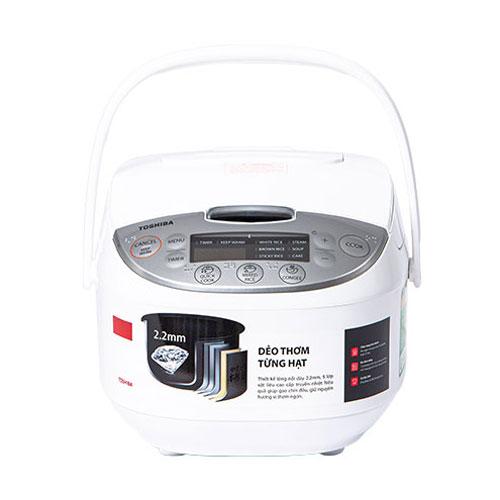 Nồi cơm điện tử Toshiba 1 lít RC-10DH2PV(W)