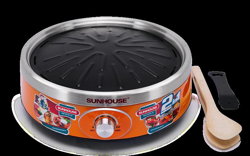 Bếp nướng hồng ngoại Sunhouse SHD4668