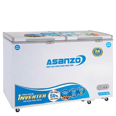 Tủ đông Asanzo 2 ngăn đông mát AS-3000R2