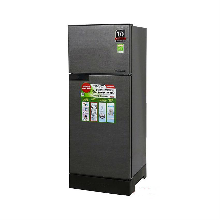 Tủ lạnh Sharp Inverter SJ-X196E-SL dung tích 180 lít
